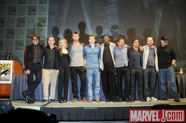 Marvel Avengers [Marvel - 2012] Casting-avengers-comic-con-20100726