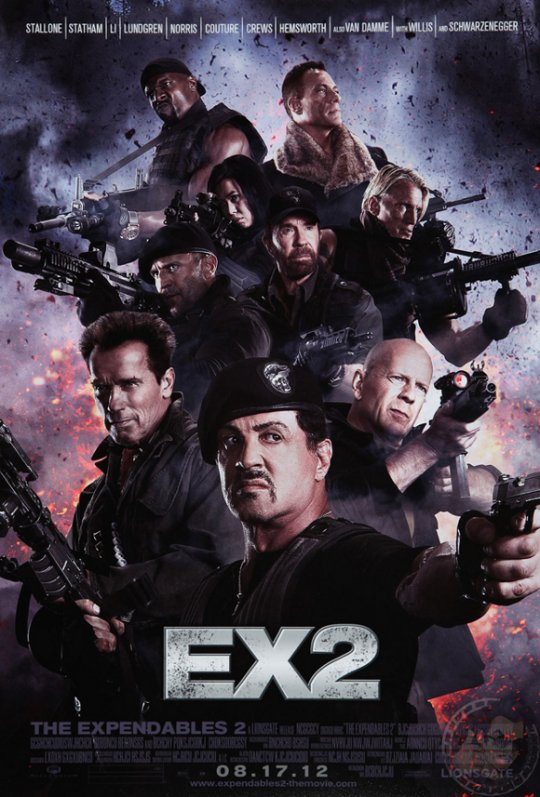 THE EXPENDABLES 2 19940