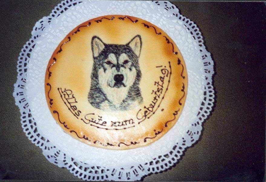 Alles Gute nachträglich Geburtstag-torte