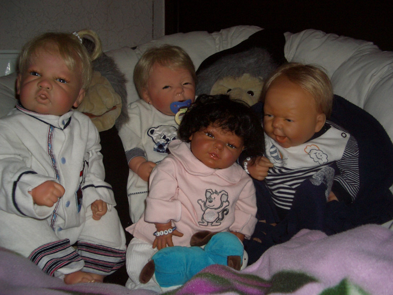 Babys reallife selbst herstellen/ Reborn Babylina1