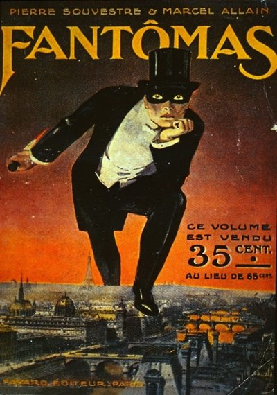 1st edition of Le Fantôme de l'Opéra Fantomas