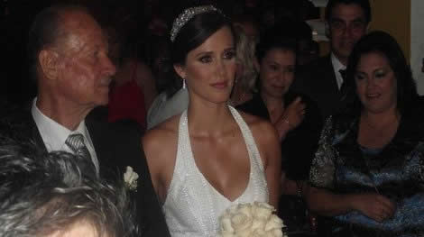 Maju en su boda Maju_Mantilla_2
