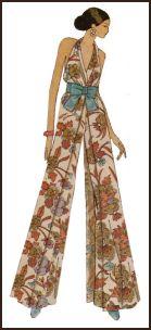 istorija - Istorija modnog dizajna 1971catsuit