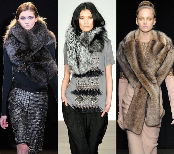 Модная верхняя одежда сезона осень-зима 2011-2012 Natural