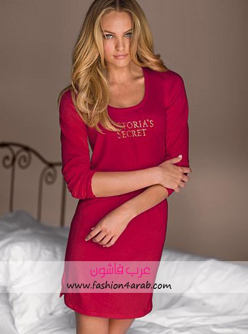 ملابس للنوم من ماركة فيكتوريا سيكيرت المحبوبة  V293595