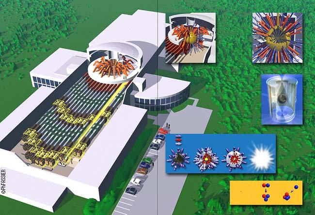 pour - France et Royaume-Uni ont signé un accord pour des essais nucléaires en Bourgogne dès 2014 LaserMegaJoule
