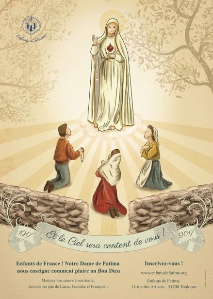 Tout à Jésus par Marie - Préparation à la consécration au Coeur Immaculé de Marie - AfficheA3compress%C3%A9e