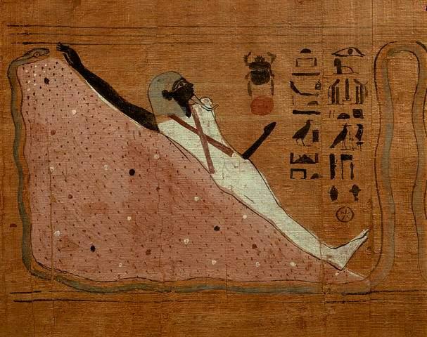 Papiro: libro de los  muertos de Henuben Papiro
