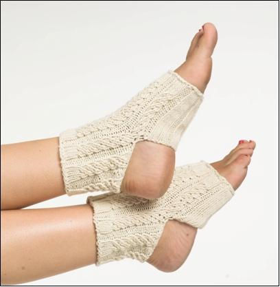Provocare tricotat nr. 1 - Şosete, botoşei, jambiere. Knit-Cable-Yoga-Socks