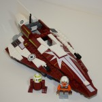 7751 Ahsoka's Starfighter & Droids Starfighter-angle-shot-150x150