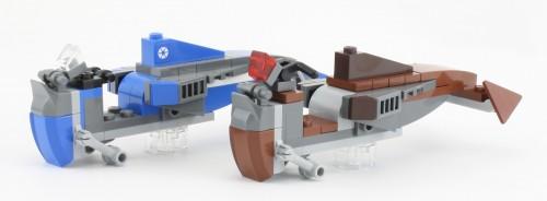 75017 Duel on Geonosis Speeder-Comparison-500x184