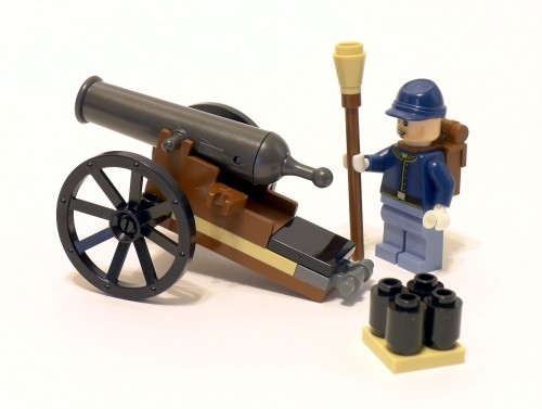 79106 Cavalry Builder Set Review 79106-Cannon-500x377