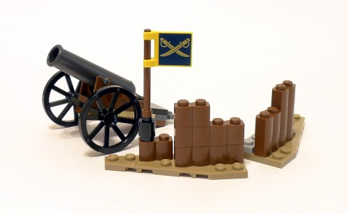 79106 Cavalry Builder Set Review 79106-Cannon-and-Barrier-500x308