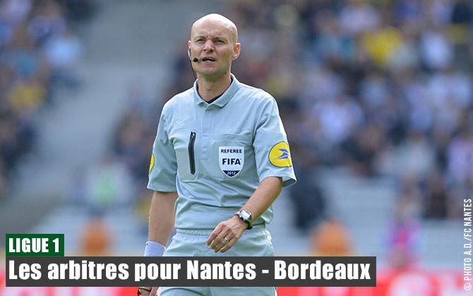 Sam. 29 MARS 2014 /20h00 / 31ème Journée de L1 /FC NANTES - GIRONDINS. DE BORDEAUX Arbitres260314