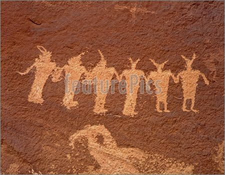 Petroglyphs of an unknown civilization - India Ancient-Indian-Petroglyphs-Colorado-River-Utah-214653