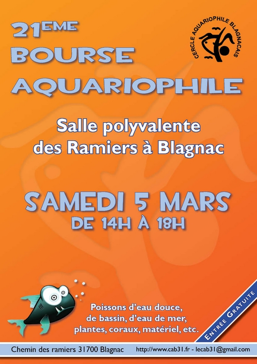 bourse aquariophile blagnac 31 Blagnac2