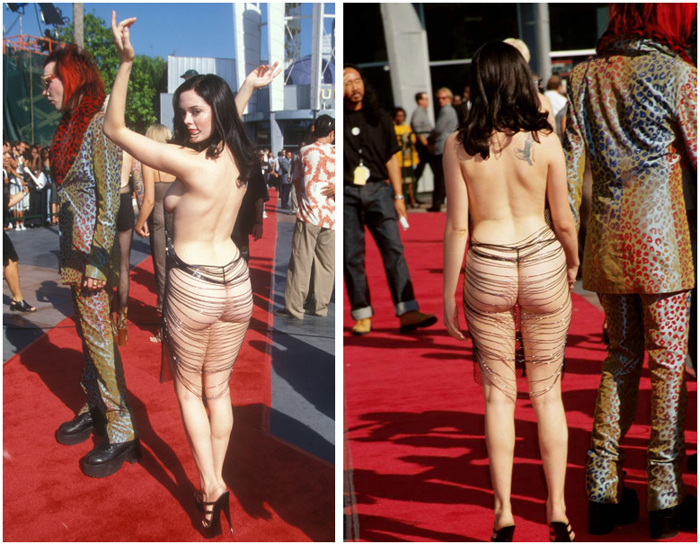 New Red Sonja film to start production in October... - Page 2 Rose_mcgowan_marilyn_manson_mtv_awards_1998