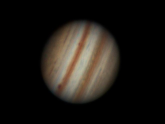 Jupiter en IR-RVB  + anim Photo22f