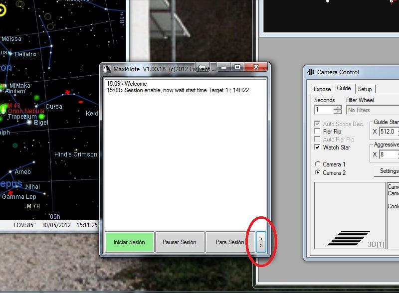 MaxPilote : Soft pour gérer vos soirées avec Maxim DL/FocusMax/Pinpoint/PHDGuiding - Page 3 Maxpilote3