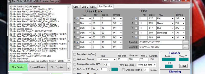 MaxPilote : Soft pour gérer vos soirées avec Maxim DL/FocusMax/Pinpoint/PHDGuiding - Page 3 Maxpilote4