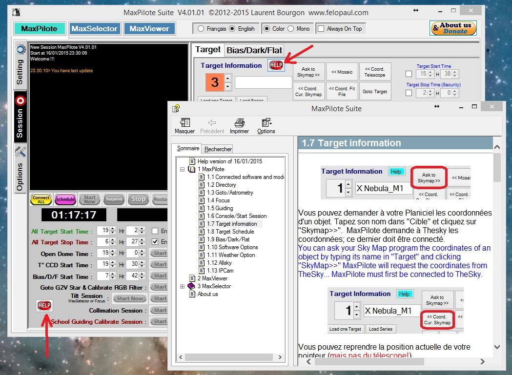 MaxSelector  disponible !! Maxpilote4-5