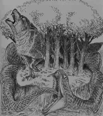 MYTHOLOGIE NORDIQUE Fenrir1