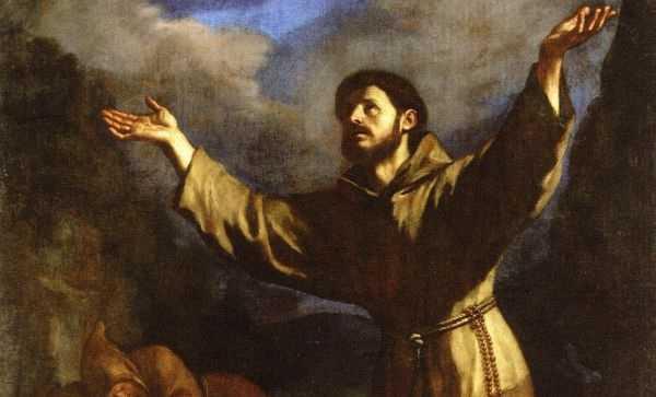 Fra Cipolla e la penna dell'Arcangelo Gabriele 10-04-SanFrancesco-byGuercino-orizz