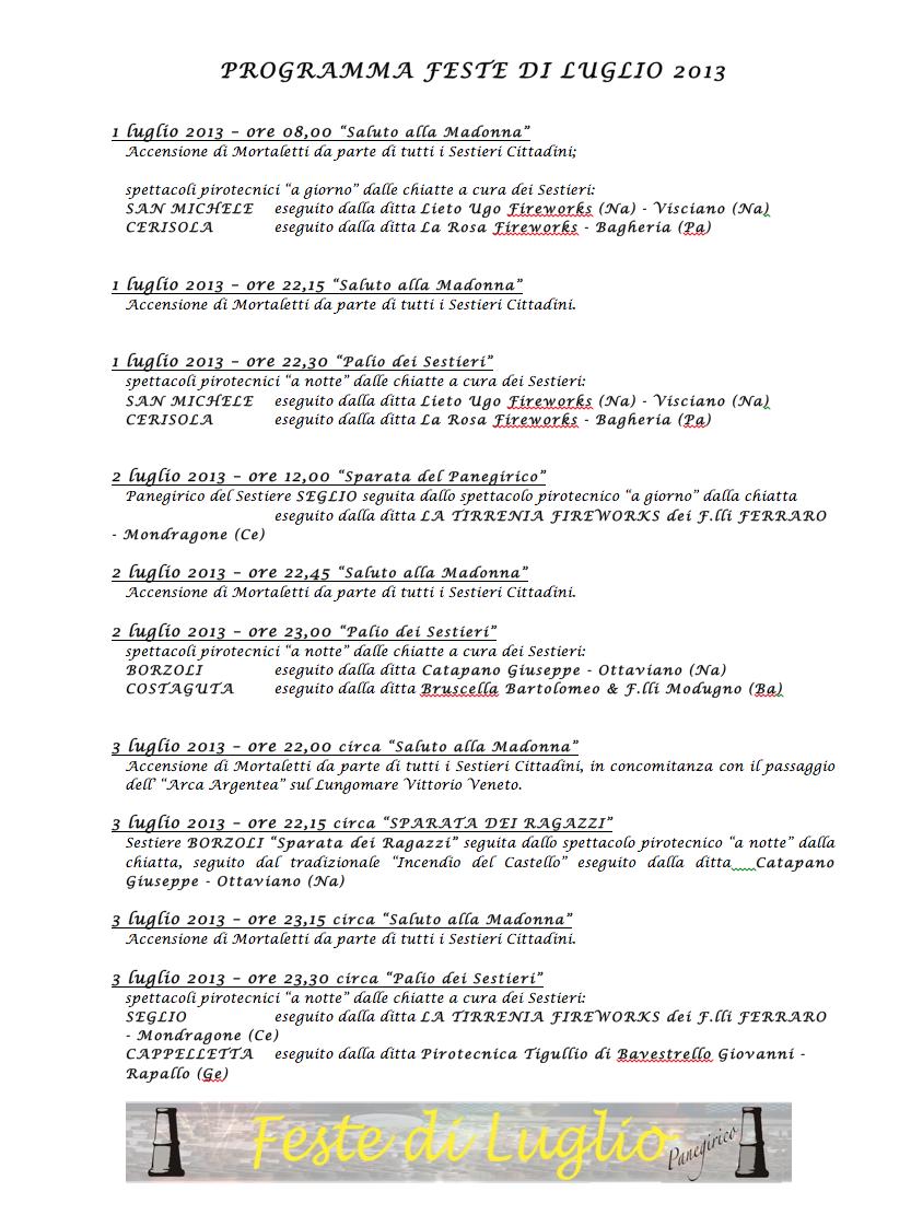 feste di luglio 1-2-3 Rapallo (Ge) - Pagina 5 Programma-20131