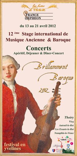Brillamment Baroque 2012 : stage et concerts Stage_BB12