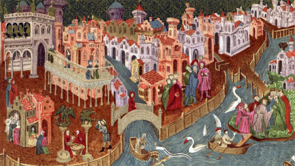 I TRE CEDRI (una storia da raccontare). - Pagina 2 Venezia-medioevo