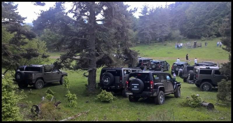 Pour la 5éme édition du rallye Hummerbox , nous avons 20 Hummers déjà inscrits venant de la Corse , Tarn , Bretagne , Oise ... Belgique et Suisse ! C'est devenu le plus gros rassemblement européens de Hummer grâce à votre participation Wp_20110