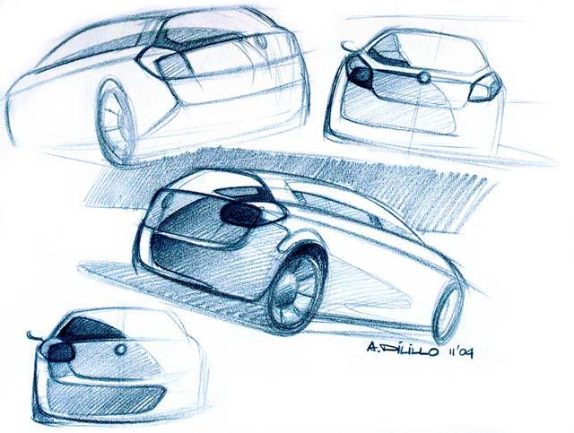 [Présentation] Le design par Fiat Zeichnung-003