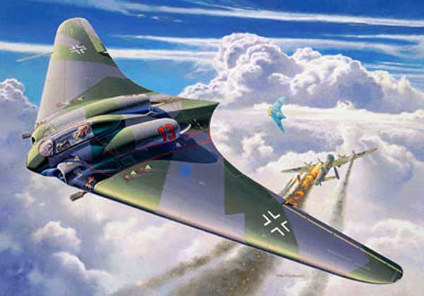 Photos of the Luftwaffe in WW2 - Page 2 Horten-Ho-229-Flying-Wing-Fighter-Bomber-Title