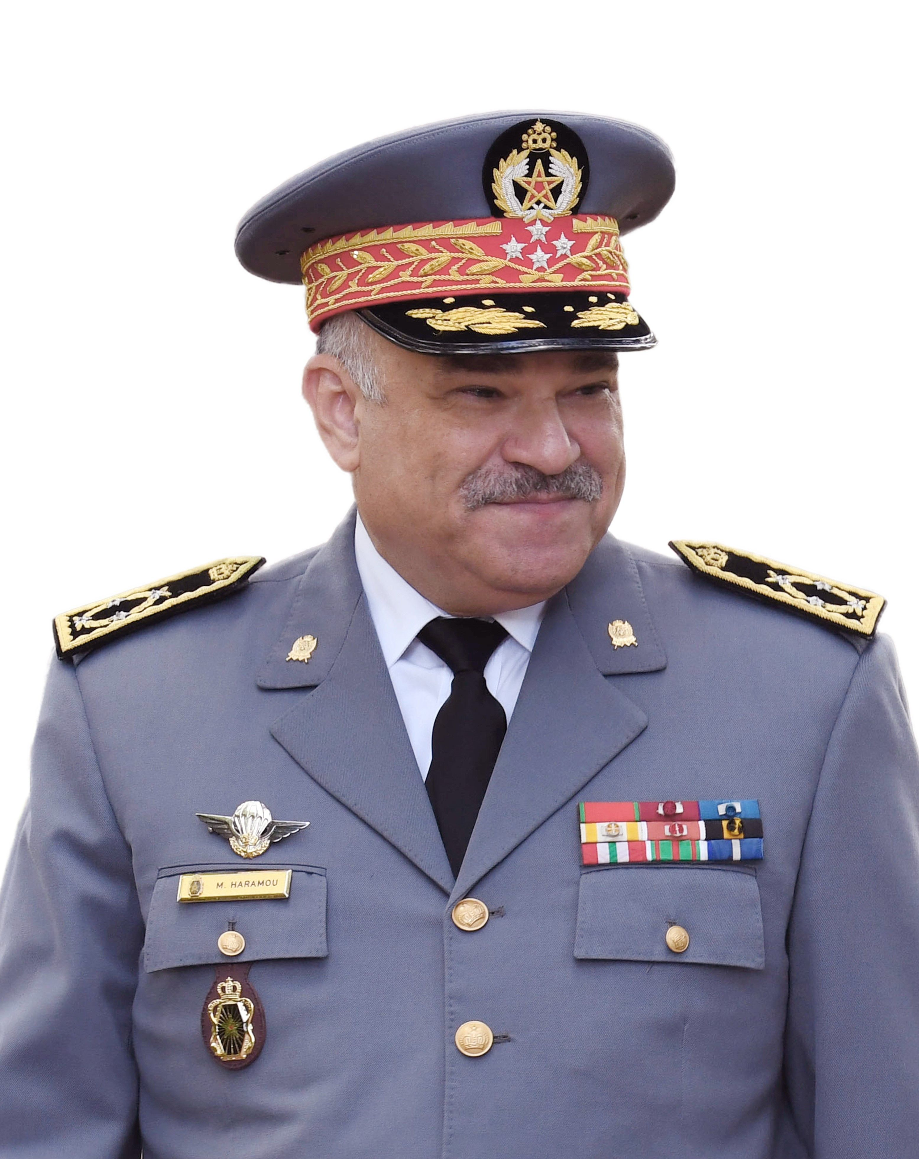 Général de Corps d'Armée Mohammed Haramou 2019-11-Photo-of-the-Commander-of-the-Moroccan-Gendarmerie-Royale