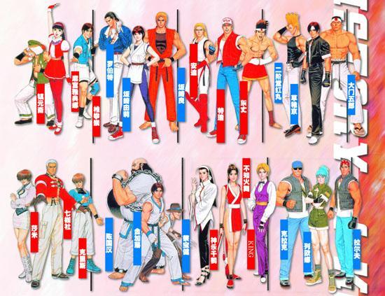 The King of Fighters en manga Kof97-teamz