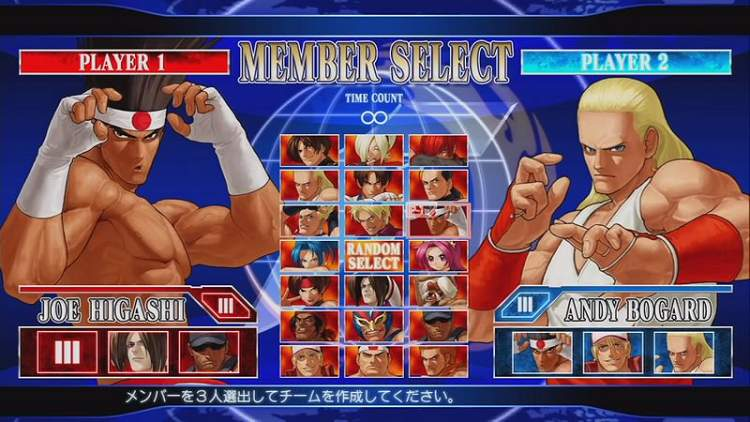 The King of Fighters XII Xiiselect