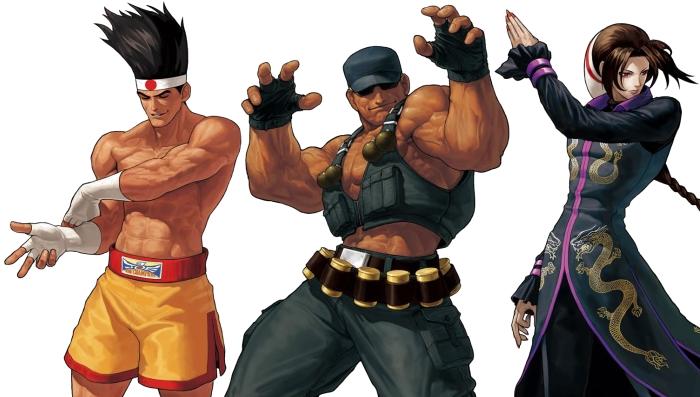 King of Fighters XII Joe-duo-clark