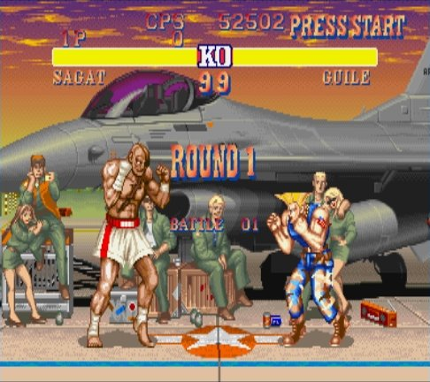 [Jeux Rétrolympiques 2014] Round 2 : Street Fighter Turbo Super Nintendo Sf2t-s23