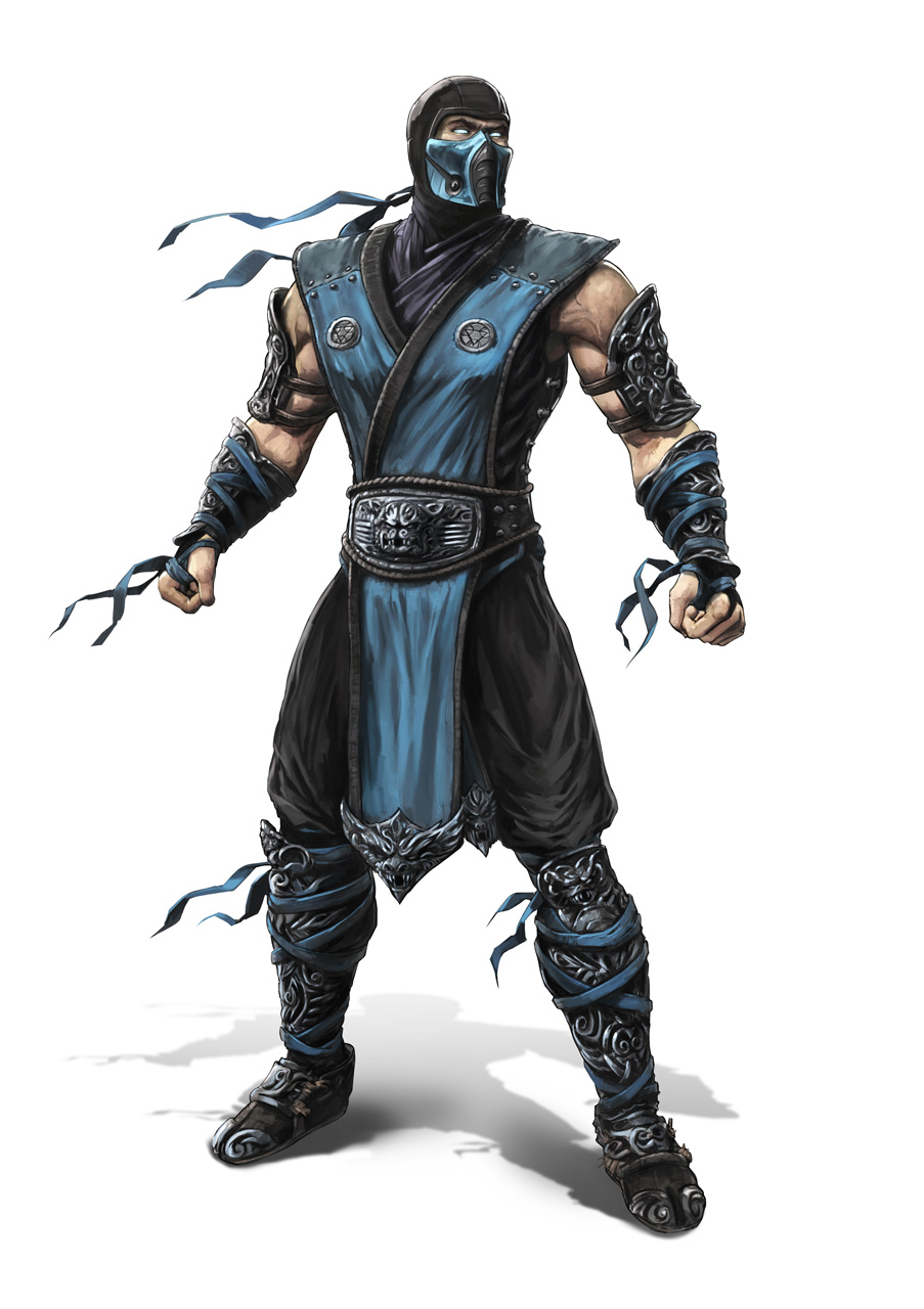 [NYCC 2014] MEZCO - 6-Inch Mortal Kombat X Figures Subzero-mk9art