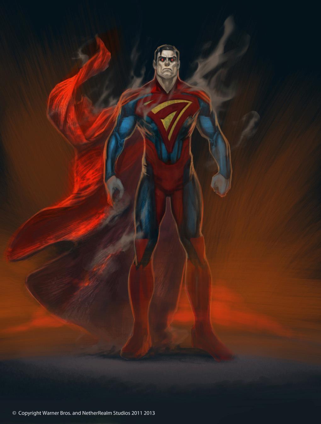 [6ML][Mission JL] L'erreur [Batwoman, Wonder Woman, Jade] Superman-injustice-concept-by-justin-murray2