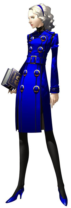 The flames of the Phoenix are cosplaying!  Margaret-persona4-render-art
