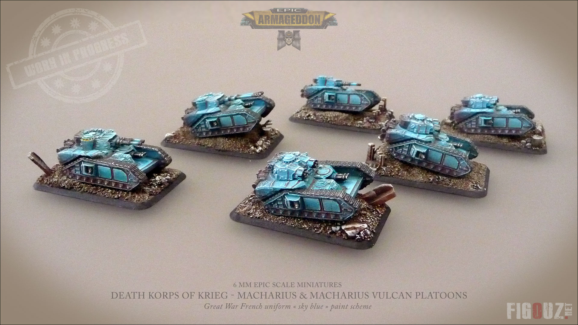 Le Vénérable Zaïus - Death Korps Of Krieg - 3000pts. - Page 10 Epic-DKOK-CDA-Macharius-WIP-11