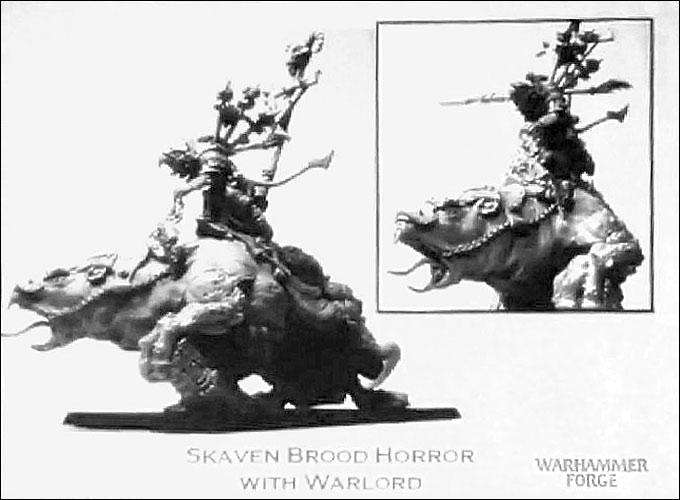 Nouveautés forgeworld Forgeworld-mounted-skaven-brood-horror