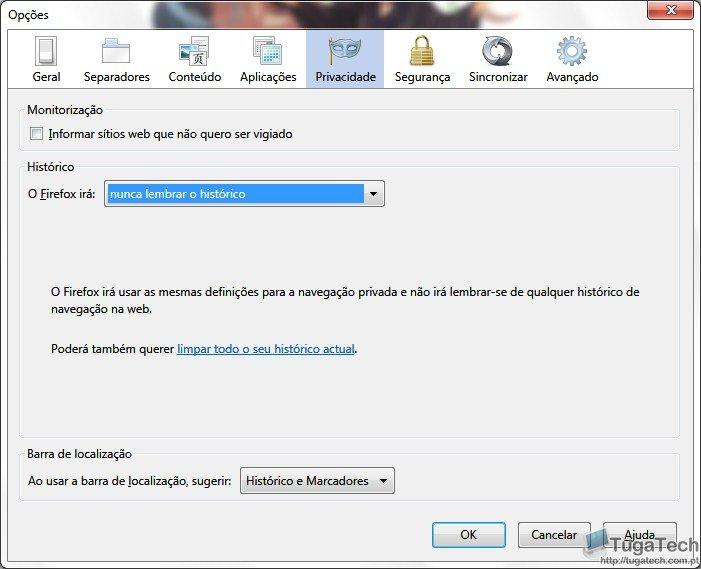 Não memoriar historico mas memorizar passwords SS-2011-07-23_13.28.06