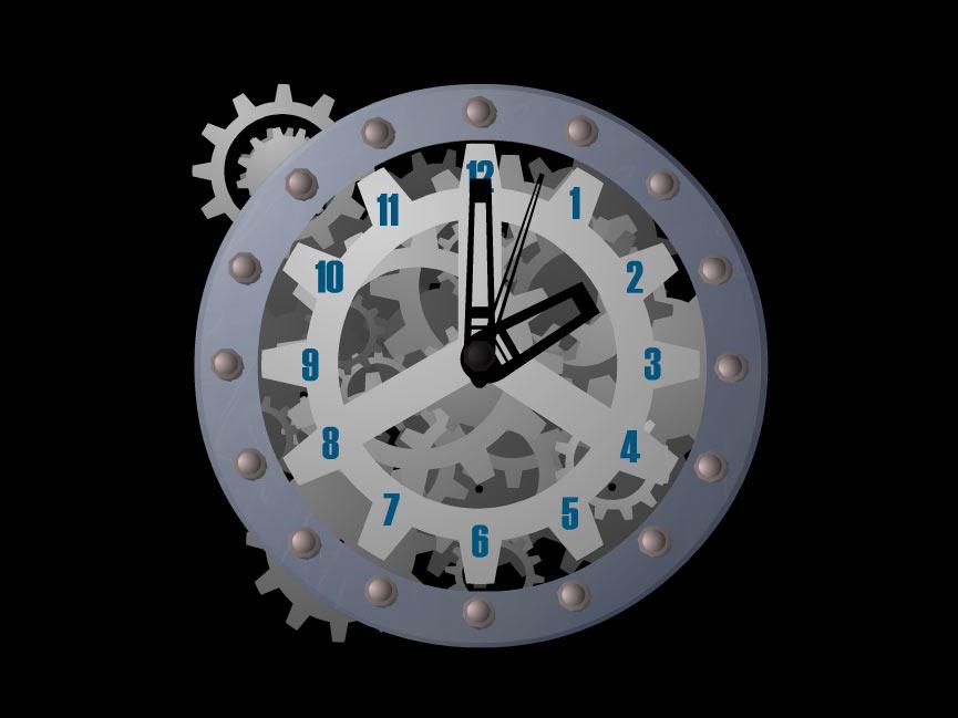 Satovi  Cc41fae287a2760c696b5062a1d39049_7art_Mechanical_Clock_ScreenSaver