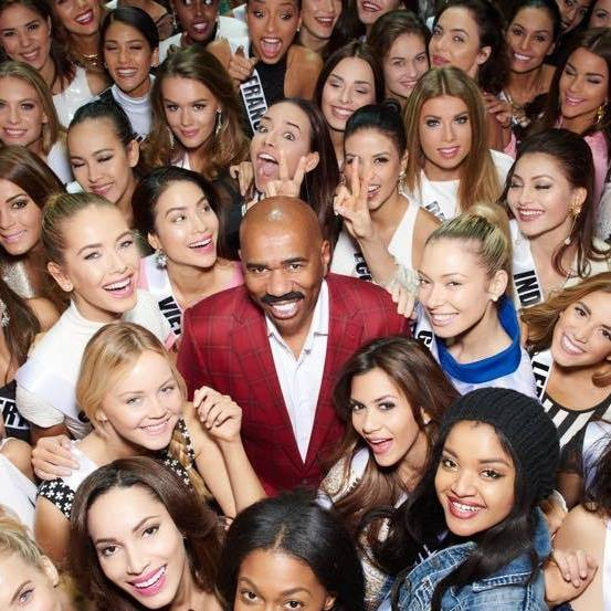 MISS UNIVERSE IN HISTORY! - Page 3 Steve-harvey-miss-universe-2015