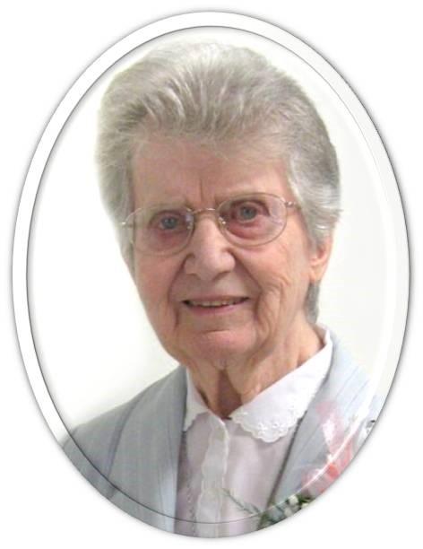 Sœur Monique Cossette, f.j.  (S. Marie-Ange Lucie) 1919-2018 COSSETTE
