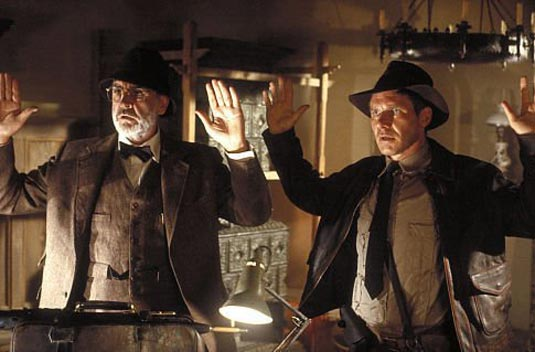 ¿Cuánto mide Harrison Ford? - Altura - Real height Indiana_jones_and_the_last_crusade_sean-connery