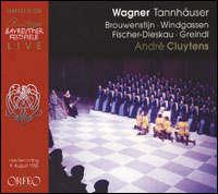 Wagner. Discografía completa Tannhauser