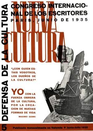 Luchar contra el fascismo es luchar contra el capitalismo - Discurso de Bertolt Brecht en el Primer Congreso Internacional de escritores - París, 1935 N05p01